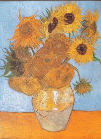 Puzzle Arte 1000 pezzi Clementoni Van Gogh Girasoli