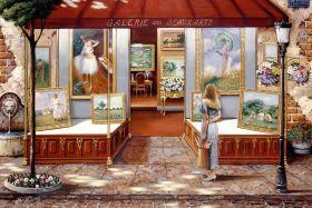 Puzzle Arte 3000 pezzi Ravensburger Galleria di Belle Arti