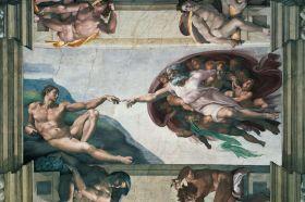 Puzzle 5000 pezzi Ravensburger Michelangelo La Creazione di Adamo | Puzzle Arte