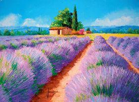 Puzzle Arte 500 pezzi Clementoni Lavender Scent