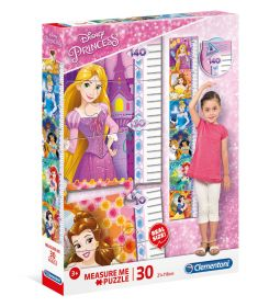 Puzzle Bambini 30 pezzi Princess Measure Me Clementoni su ARSLUDICA.com