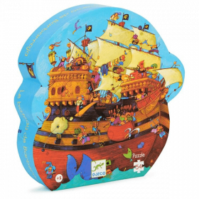 Puzzle Barbarossa's Boat 54 pezzi (Puzzle Djeco)