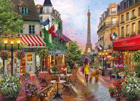 Puzzle Città 1000 pezzi Clementoni Flowers in Paris