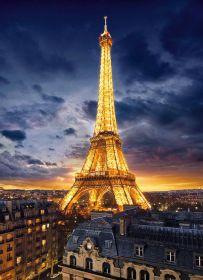 Puzzle Città 1000 pezzi Clementoni Tour Eiffel