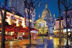 Puzzle Città 1500 pezzi Clementoni Paris Montmartre