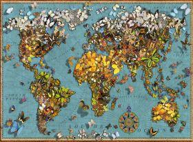 Puzzle Composizioni 500 pezzi Ravensburger Mondo di Farfalle