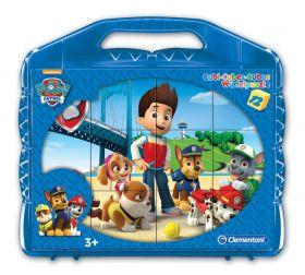 Puzzle Cubi Paw Patrol 12 Pezzi (Puzzle Bambini Clementoni) su ARSLUDICA.com
