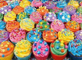 Puzzle 500 pezzi Colorful Cupcakes Clementoni su ARSLUDICA.com