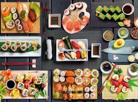 Puzzle 500 pezzi Sushi Clementoni su ARSLUDICA.com