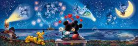Puzzle Disney 1000 pezzi Clementoni Panorama Mickey&Minnie