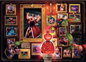 Puzzle Disney Cattivi 1000 Pezzi Ravensburger Regina di Cuori