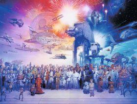 Puzzle Fantasy 2000 pezzi Ravensburger L'universo espanso di Guerre Stellari su arsludica.com
