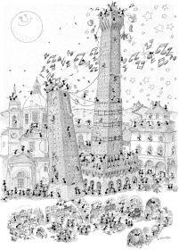 Puzzle Formiche 1000 pezzi Bologna (Puzzle Fabio Vettori) su arsludica.com