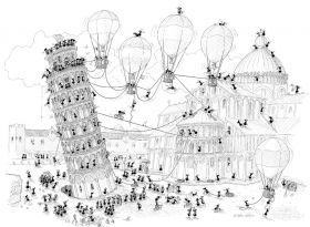 Puzzle Formiche 1000 pezzi Pisa (Puzzle Fabio Vettori) su arsludica.com