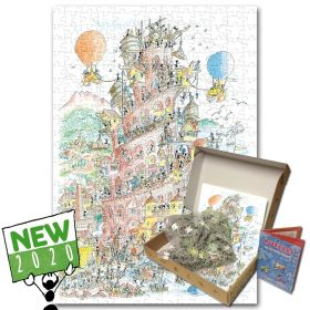 Puzzle Formiche 1000 pezzi Torre di Babele (Puzzle Fabio Vettori) su arsludica.com