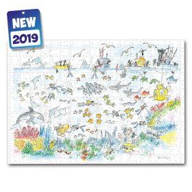 Puzzle Formiche 500 pezzi Mare (Puzzle Fabio Vettori) su arsludica.com