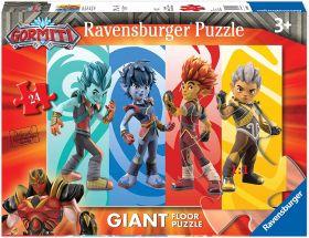 Puzzle Giant Floor 24 Pezzi Ravensburger Gormiti
