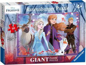 Puzzle Giant Floor 60 Pezzi Ravensburger Frozen