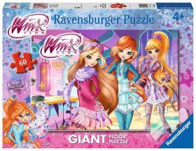 Puzzle Giant Floor 60 Pezzi Ravensburger Winx