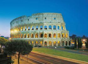 Puzzle 1000 pezzi Roma Colosseo Clementoni su ARSLUDICA.com
