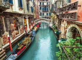 Puzzle 1000 pezzi Venice Canal Clementoni su ARSLUDICA.com