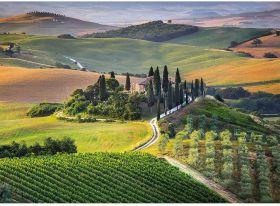 Puzzle 1000 pezzi Tuscany Clementoni su ARSLUDICA.com