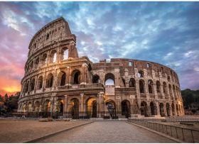 Puzzle Città 3000 pezzi Clementoni Coliseum Sunrise su arsludica.com