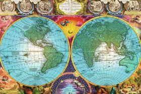 Puzzle Mappamondo 3000 pezzi Ravensburger Antico Mappamondo