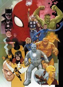 Puzzle Marvel 1000 pezzi Clementoni Marvel 80° su arsludica.com