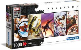 Puzzle Marvel Panorama 1000 pezzi Clementoni Marvel 80th Anniversary