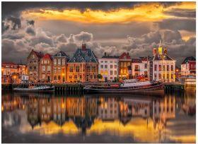 Puzzle 1000 pezzi Dutch Dreamworld Clementoni su ARSLUDICA.com