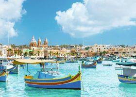 Puzzle 1000 pezzi Mediterranean Malta Ravensburger su ARSLUDICA.com