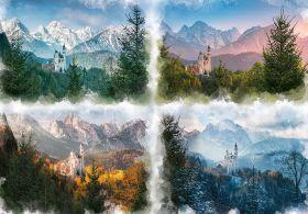 Puzzle Paesaggi 18000 pezzi Ravensburger 4 Stagioni