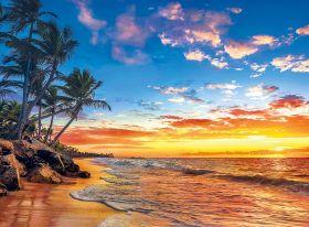 Puzzle 500 pezzi Paradise Beach Clementoni su ARSLUDICA.com