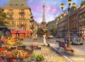 Puzzle Paesaggi 500 pezzi Ravensburger Passeggiata A Parigi