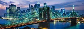 Puzzle Panorama 1000 pezzi Clementoni New York Brooklyn Bridge