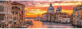 Puzzle Panorama 1000 pezzi Clementoni Venice The Grand Canal