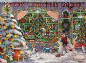 Puzzle Speciali 500 pezzi Ravensburger Il negozio di Natale