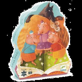 PUZZLE THE 3 LITTLE PIGS | Puzzle Djeco