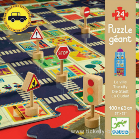 Puzzle The City 24 pezzi (Puzzle Djeco)