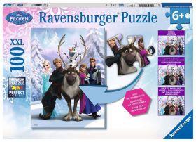 Puzzle XXL 100 pezzi Frozen B Ravensburger su ARSLUDICA.com