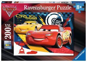 Puzzle XXL 200 pezzi Cars 3 Ravensburger su ARSLUDICA.com