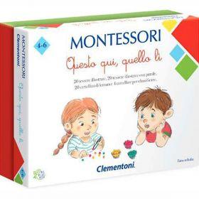 Questo qui, quello lì - Montessori (Gioco Educativo Clementoni)