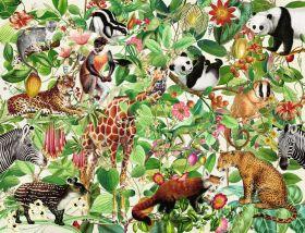 Puzzle 2000 Pezzi Ravensburger Giungla | Puzzle Animali