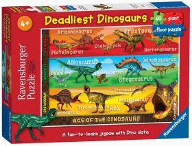 Dinosauri (Puzzle 60 pezzi Ravensburger)