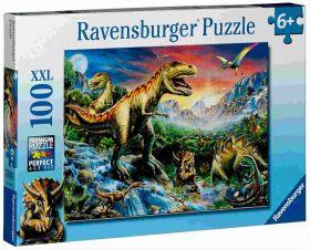 L'Era dei Dinosauri (Puzzle 100 pezzi XXL Ravensburger)