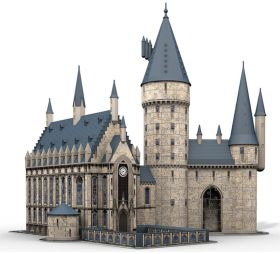 Puzzle 3D 600 Pezzi Ravensburger Castello di Hogwarts | Puzzle Personaggi