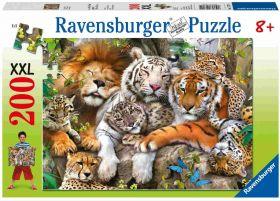 Grandi Felini (Puzzle 200 pezzi XXL Ravensburger)