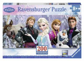 Frozen (Puzzle 200 pezzi XXL Panorama Ravensburger)