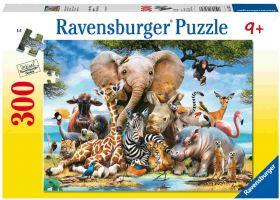 Cuccioli d'Africa (Puzzle 300 pezzi XXL Ravensburger)